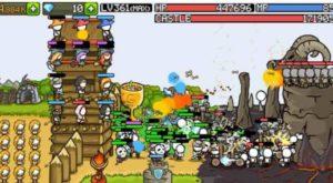 Враги в игре наступают регулярно и волнообразно.