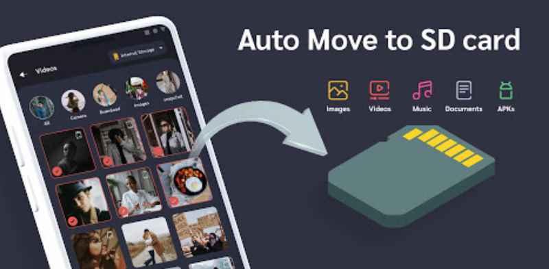 Приложение отлично подойдет тем, у кого вечно не хватает памяти в устройстве